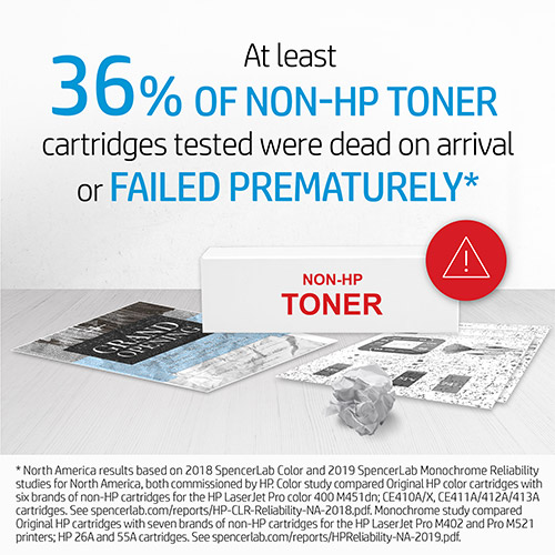 HP 508X (CF360X) High-Yield Black Toner Cartridge