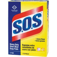 S.O.S. Steel Wool Soap Pads (88320)