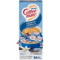 Nestle Coffee-mate Coffee Creamer French Vanilla - liquid creamer singles (35170)