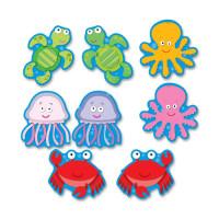 Carson-Dellosa Carson Dellosa Education Sea Life Cut-outs Bulletin Board Set (120075)