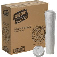 Dixie Large Reclosable Hot Cup Lids by GP Pro (TP9542CT)