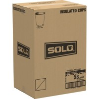 Solo Symphony Trophy Poly Hot Cups (X8J8002CT)