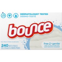 Bounce Free/Gentle Dryer Sheets (24684CT)