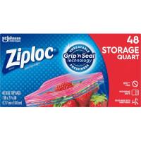 Ziploc Quart Storage Seal Top Bags (314469CT)
