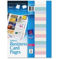 Avery Business Card Pages (76004)