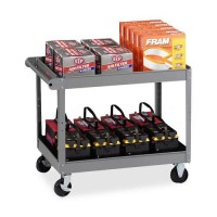 Tennsco Two Shelf Service Cart (SC2436MGY)