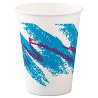 Dart Jazz Paper Hot Cups, 12oz, Polycoated, 50/Bag, 20 Bags/Carton (412JZJ)