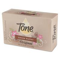 Tone Skin Care Bar Soap, Almond Color, 4 1/4 oz Individually Wrapped Bar, 48/Carton (99270)