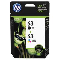 HP 63 (L0R46AN) Black,Tri-Color Ink Cartridge