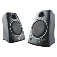 Logitech Z130 Compact 2.0 Stereo Speakers, 3.5mm Jack, Black (980000417)
