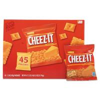 Sunshine Cheez-it Crackers, Original, 1.5 oz Pack, 45 Packs/Carton (827553)