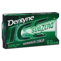 Dentyne Sugarless Gum, Iceberg Mint, 16 Pieces/Pack, 9 Packs/Box (00868)