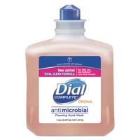 Dial Antimicrobial Foaming Hand Wash, 1000mL Refill, 6/Carton (00162)