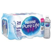 Nestleee Pure Life Purified Water, 16.9 oz Bottle, 24/Carton (101264CT)