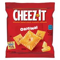 Sunshine Cheez-It Crackers, 1.5 oz Single-Serving Snack Pack, 8/Box (12233)