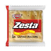Keebler Zesta Saltine Crackers, 2 Crackers/Pack, 500 Packs/Carton (01008)