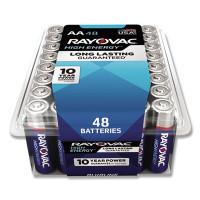 Rayovac Alkaline AA Batteries, 48/Pack (81548PPK)