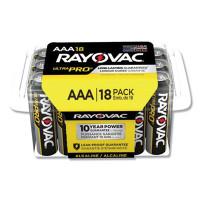 Rayovac Ultra Pro Alkaline AAA Batteries, 18/Pack (ALAAA18PPJ)