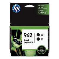HP 962, (3JB33AN) Black Original Ink Cartridge 2-Pack