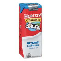 Horizon Organic Low Fat Milk, 1% Plain, 8 oz, 18/Carton (2729987)