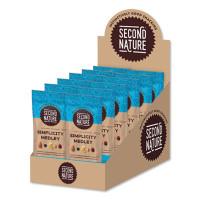 Second Nature Simplicity Medley Trail Mix, 2.25 oz Bag, 12 Bags/Box (2139509)