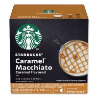 Nescafe Dolce Gusto Starbucks Coffee Capsules, Caramel Macchiato, 12/Box (94273BX)