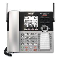 Vtech CM18445 Four-Line Business System Cordless Phone, Silver/Black (1539811)