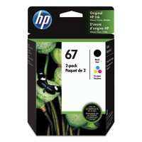 HP 67 (3YP29AN) Black,Tri-Color Ink Cartridge