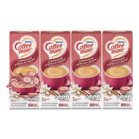 Coffee-mate Liquid Coffee Creamer, Cinnamon Vanilla, 0.38 oz Mini Cups, 50/Box, 4 Boxes/Carton, 200 Total/Carton (42498CT)