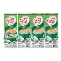 Coffee-mate Liquid Coffee Creamer, Irish Creme, 0.38 oz Mini Cups, 50/Box, 4 Boxes/Carton, 200 Total/Carton (35112CT)