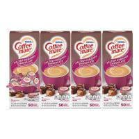 Coffee-mate Liquid Coffee Creamer, Italian Sweet Creme, 0.38 oz Mini Cups, 50/Box, 4 Boxes/Carton, 200 Total/Carton (84652CT)