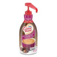 Coffee-mate Liquid Creamer Pump Bottle, Salted Caramel Chocolate, 1.5 Liter (79976)
