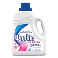WOOLITE Gentle Cycle Laundry Detergent, Light Floral, 100 oz Bottle, 4/Carton (83134CT)