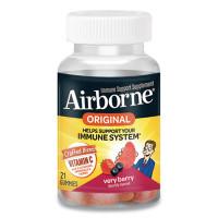 Airborne Immune Support Gummies, Very Berry, 21/Bottle (90846)