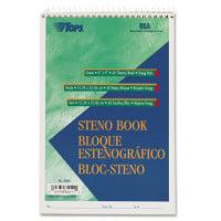 TOPS Green Tint Steno Books (8001)