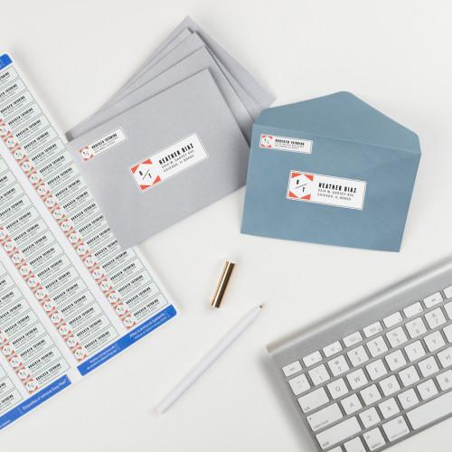Avery Easy Peel Return Address Labels, 1/2