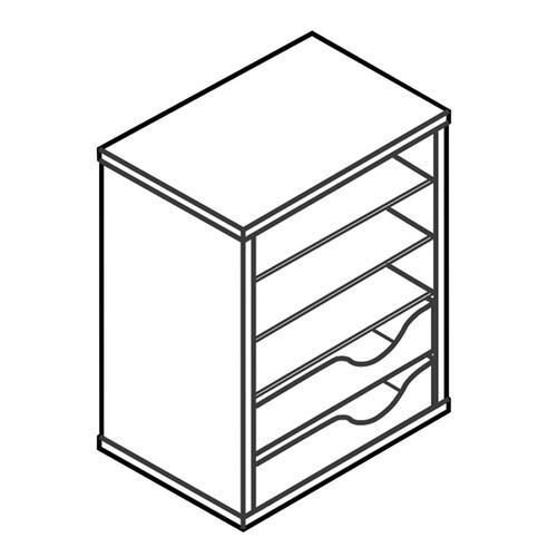 HON Laminate Vertical Paper Manager (LVPM1H)