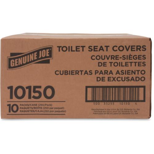 Genuine Joe Half-fold Toilet Seat Covers (10150)
