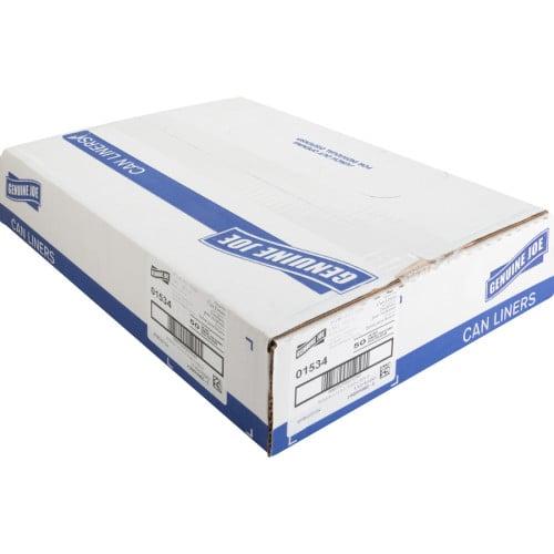Genuine Joe Heavy-Duty Trash Can Liners (01534)