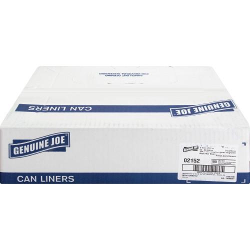 Genuine Joe 2-Ply Can Liners (02152)