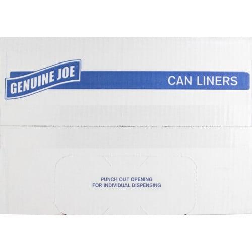 Genuine Joe 2-Ply Can Liners (02149)