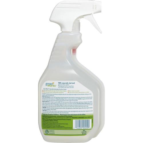 Green Works Glass & Surface Cleaner, Original, 32oz Smart Tube Spray Bottle (00459)