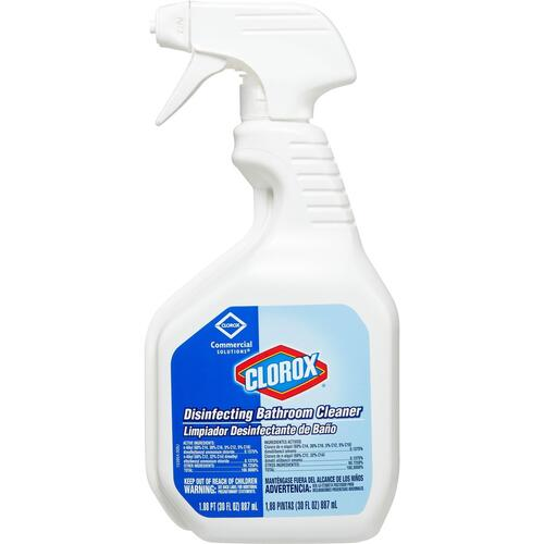 Clorox Commercial Solutions Disinfecting Bathroom Cleaner with Bleach (16930CT)