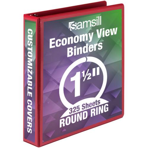 Samsill Economy Round Ring View Binders (18553)
