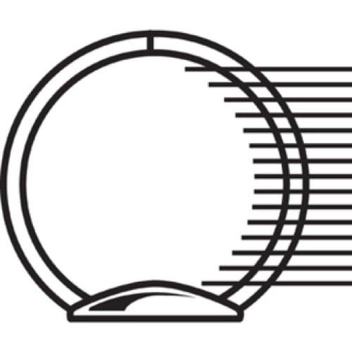 Samsill Economy Round Ring View Binders (18563)