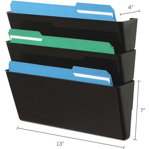 Deflecto Stackable DocuPocket Set (73604)