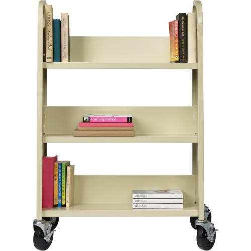 Lorell Single-sided Book Cart (49204)