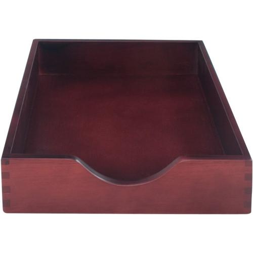 Carver Mahogany Desk Tray (CW07213)