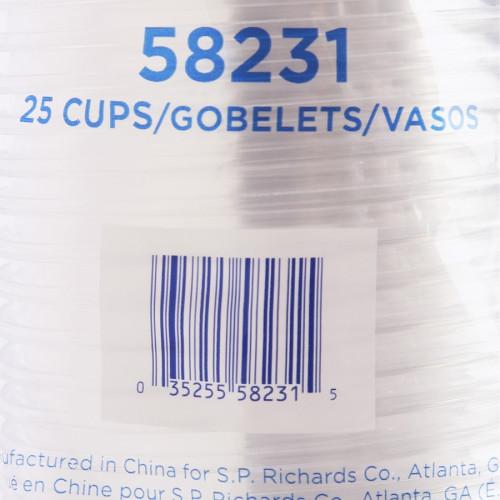 Genuine Joe Clear Plastic Cups (58231)