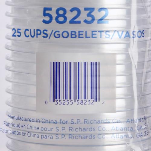 Genuine Joe Clear Plastic Cups (58232)